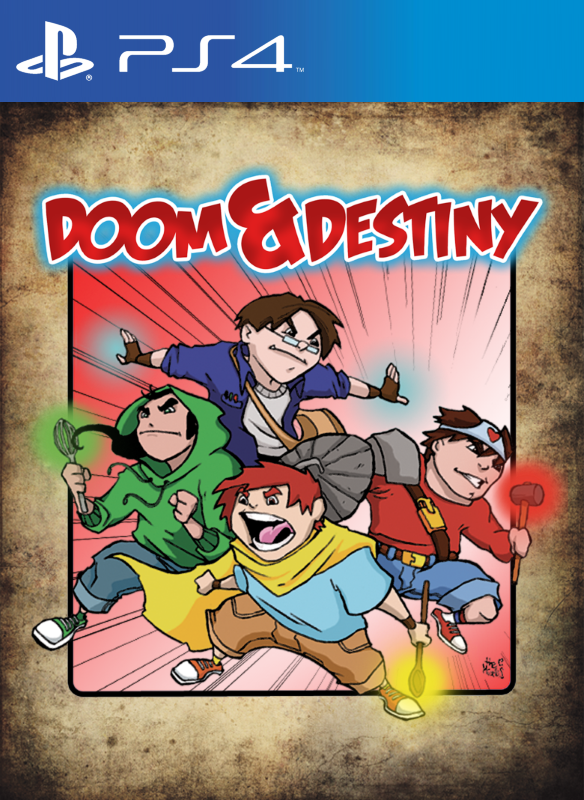 Doom & Destiny | The Role Playing Spaghetti Fantasy